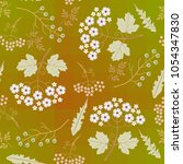 spring seamless pattern with... | Shutterstock .eps vector #1054347830