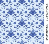 seamless pattern in traditional ... | Shutterstock .eps vector #1054349966