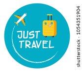 vector flat icon for travel   Shutterstock .eps vector #1054351904