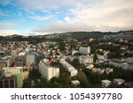 wellington city  new zealand | Shutterstock . vector #1054397780
