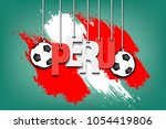 banner the inscription peru and ...   Shutterstock .eps vector #1054419806