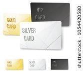 gold silver platinum vip... | Shutterstock .eps vector #1054420580