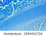 washing windows in the house.... | Shutterstock . vector #1054421726
