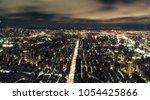 photos taipei skyline at night... | Shutterstock . vector #1054425866