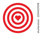 heart icon in circles | Shutterstock .eps vector #1054429598