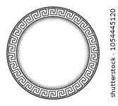 antique greek style meander... | Shutterstock .eps vector #1054445120