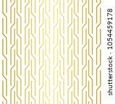 geometric golden seamless... | Shutterstock .eps vector #1054459178
