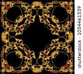 design of kerchief | Shutterstock . vector #1054461539