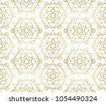 gradient gold white seamless...   Shutterstock .eps vector #1054490324