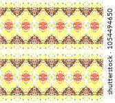 mosaic seamless colorful...   Shutterstock . vector #1054494650