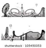 vector illustration.roller... | Shutterstock .eps vector #105450353