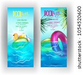 Pool Party Banners With...
