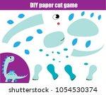 diy children educational... | Shutterstock .eps vector #1054530374