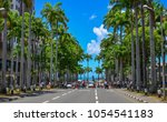 port louis  mauritius   jan 4 ... | Shutterstock . vector #1054541183