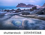 Blue Hour Beautiful Norway Landscape - Fine Art prints