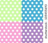 Seamless Pattern Of Cute  Fun...