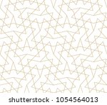 abstract geometric pattern with ... | Shutterstock .eps vector #1054564013
