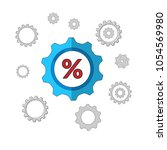 percentage icon vector.can be...