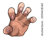 Vector Image Of A Hand In A...