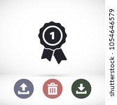 award icon vector | Shutterstock .eps vector #1054646579