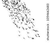 vector confetti background... | Shutterstock .eps vector #1054662683