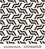 vector seamless pattern with... | Shutterstock .eps vector #1054668338