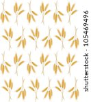 seamless background with wheat...   Shutterstock .eps vector #105469496
