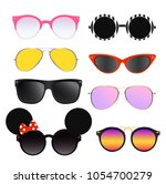 vector illustration set of... | Shutterstock .eps vector #1054700279