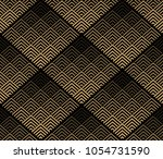 abstract geometric pattern.... | Shutterstock . vector #1054731590