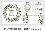 set beautiful backgrounds with  ... | Shutterstock .eps vector #1054731779