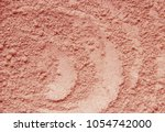 dry mask of clay powder.... | Shutterstock . vector #1054742000