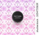 modern colorful halftone... | Shutterstock .eps vector #1054755839