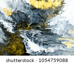 black and white with gold... | Shutterstock . vector #1054759088