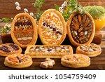 mazurek traditional polish... | Shutterstock . vector #1054759409