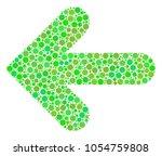 arrow left composition of...   Shutterstock .eps vector #1054759808