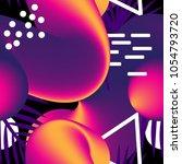gradient futuristic seamless... | Shutterstock .eps vector #1054793720