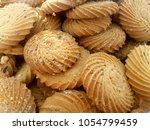 best cookies for packaging  | Shutterstock . vector #1054799459