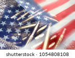 united states army  | Shutterstock . vector #1054808108