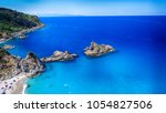beautiful aerial view of... | Shutterstock . vector #1054827506
