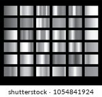 silver gradient background... | Shutterstock .eps vector #1054841924