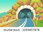 vector cartoon illustration of...   Shutterstock .eps vector #1054857878
