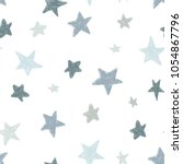 vector kids pattern with doodle ... | Shutterstock .eps vector #1054867796