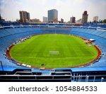 blue stadium  the professional... | Shutterstock . vector #1054884533