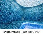modern hammam with a swimming... | Shutterstock . vector #1054890440
