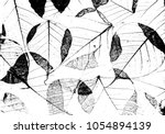 texture of dry leaves surface.... | Shutterstock .eps vector #1054894139