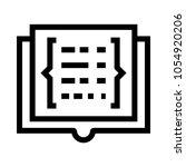 coding book vector icon