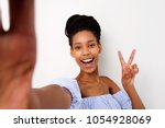 portrait of smiling young...   Shutterstock . vector #1054928069