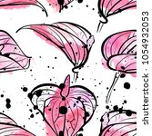 seamless pattern with... | Shutterstock .eps vector #1054932053