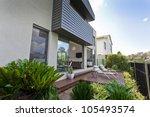 modern australian house facade...   Shutterstock . vector #105493574