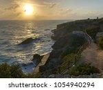 sunset at punta sur  isla...   Shutterstock . vector #1054940294